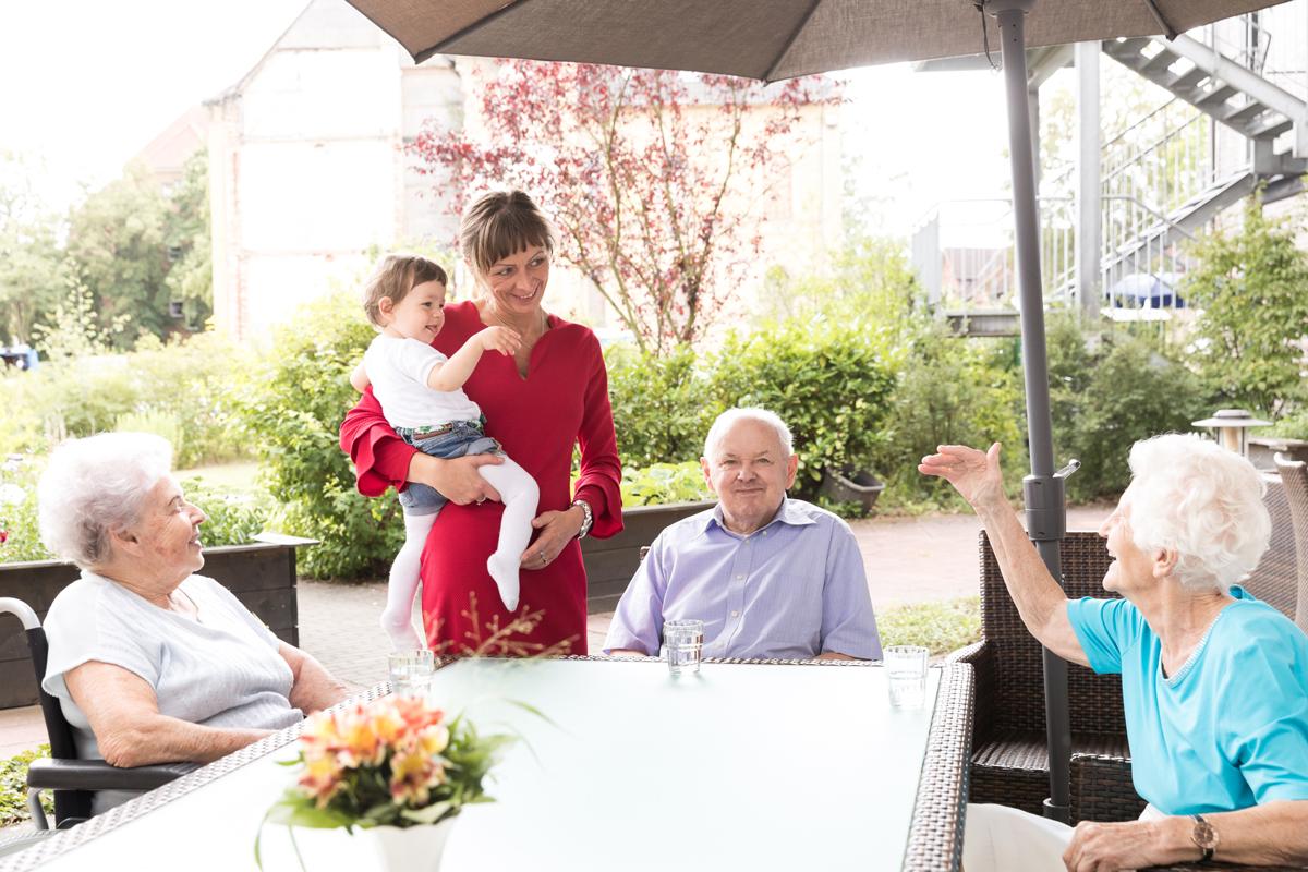 Seniorenheim Zentrum für Betreuung und Pflege Curanum St. Viti