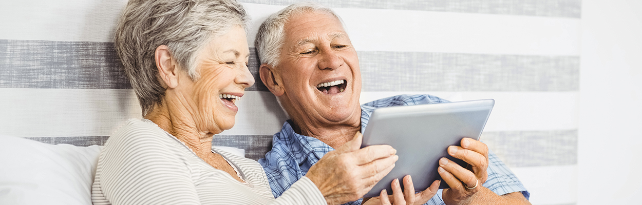 Digital vernetzt im Seniorenheim