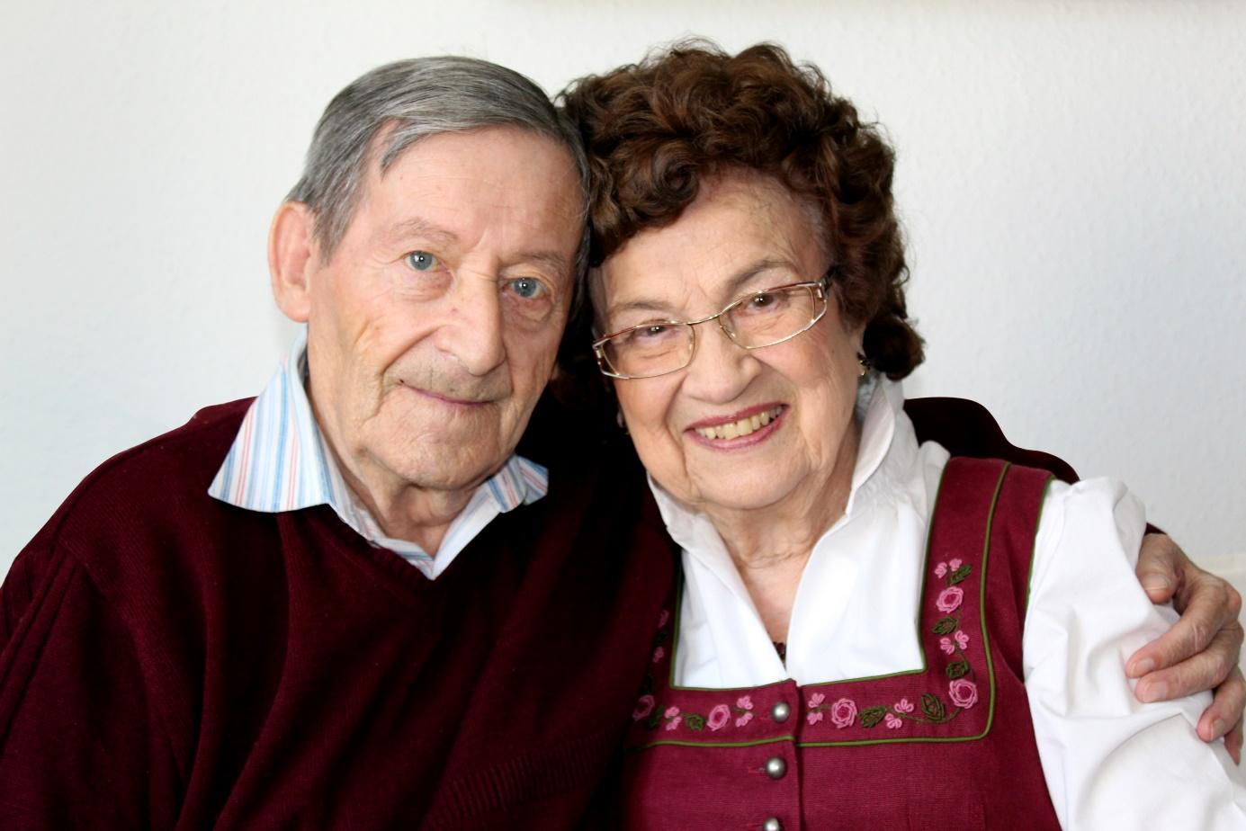 Frisch verliebt im hohen Alter