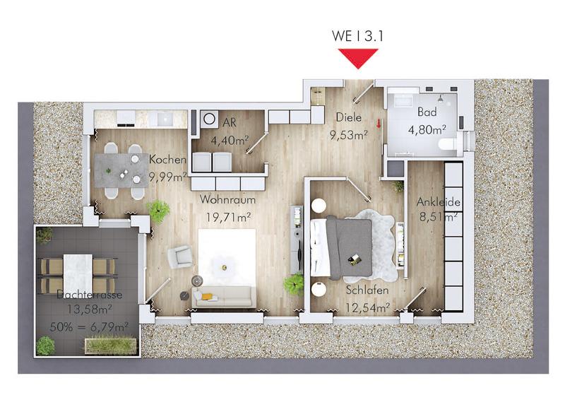 Korian Grundriss Zentrum für Betreuung und Pflege Emmerich am Rhein