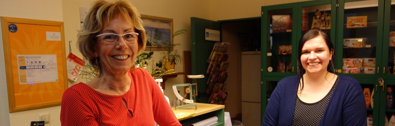 Newsartikel:Seit 42 Jahren ein Herz für die Pflege