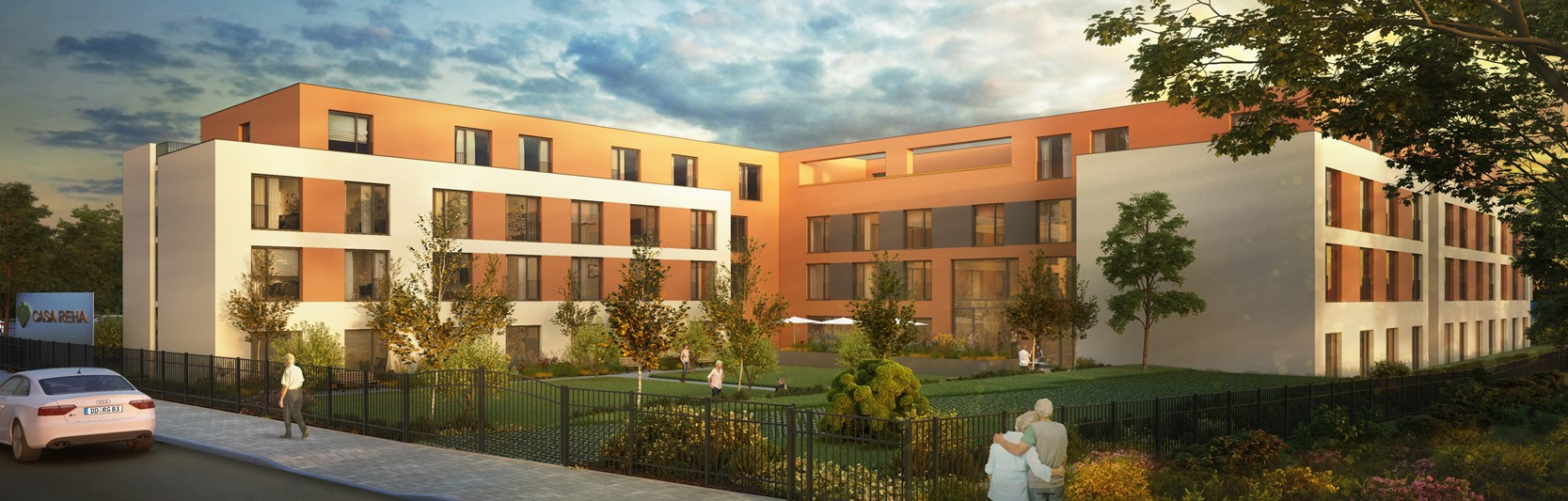 Baubeginn für neues Seniorenheim der KORIAN-Gruppe in Dresden