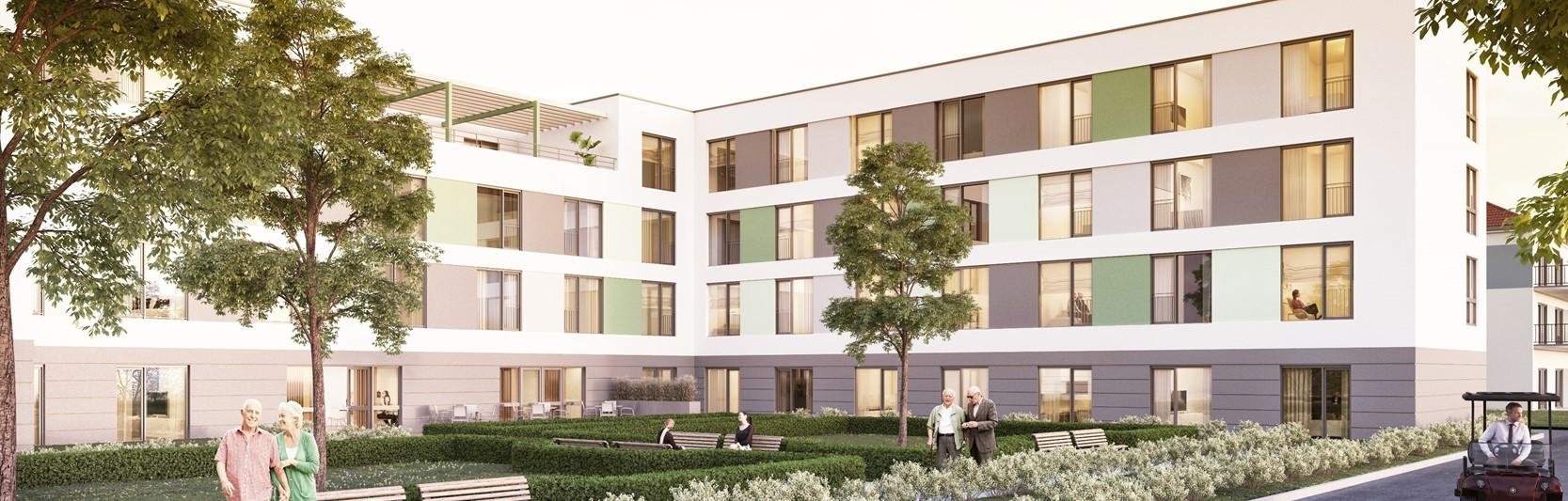 Newsartikel:Neues Pflegeheim in Altenburg freut sich über seine ersten Bewohner