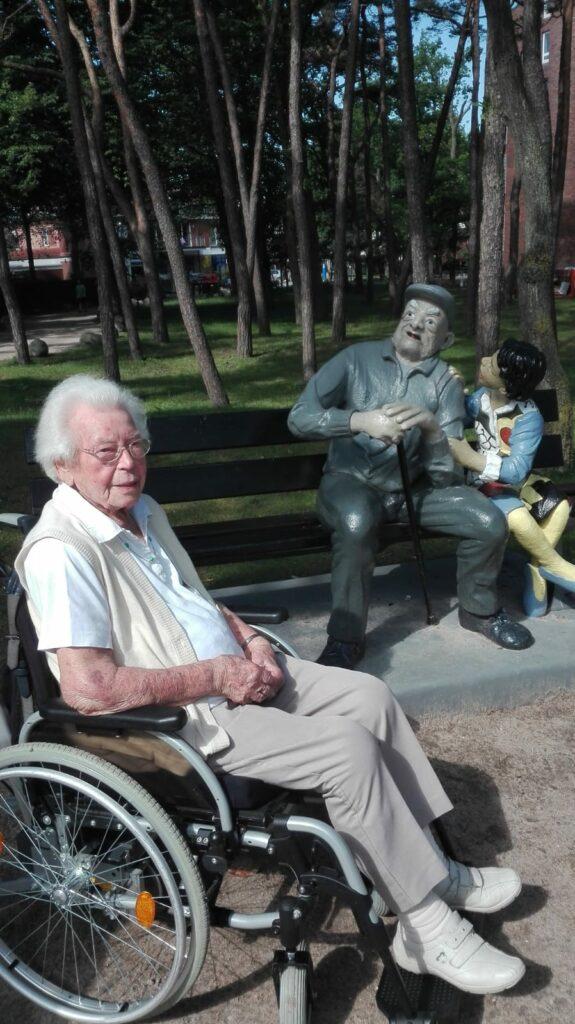 Gerda Thiel - Bewohnerin aus der Seniorenresidenz Timmendorfer Strand