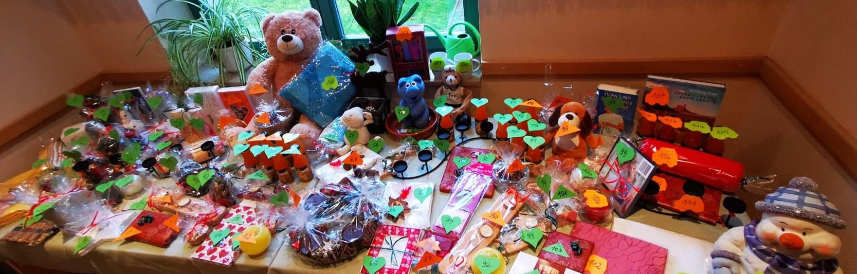 Newsartikel:Weihnachtsmarkt im Haus Curanum Barth