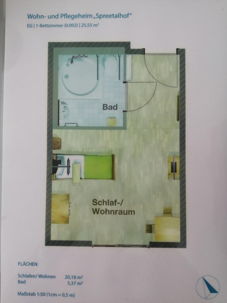 Korian Grundriss Haus Spreetalhof Berlin-Altglienicke