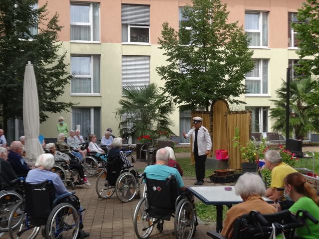 Musik-Revue im Haus Paulinenhof 27.08.2020